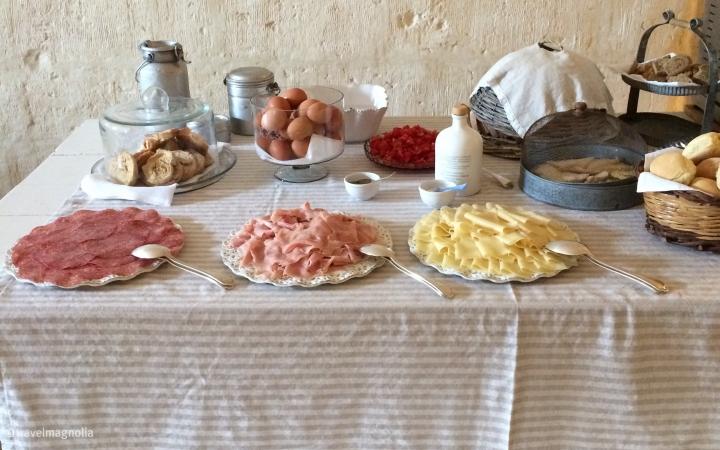 Breakfast, Puglia, Italy