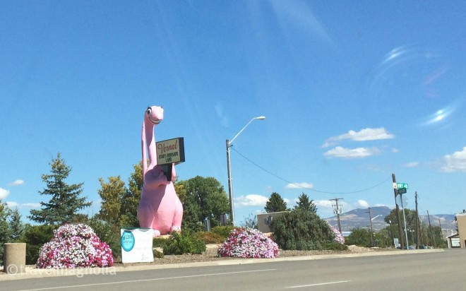 Pink Dinosaur, Vernal, Utah
