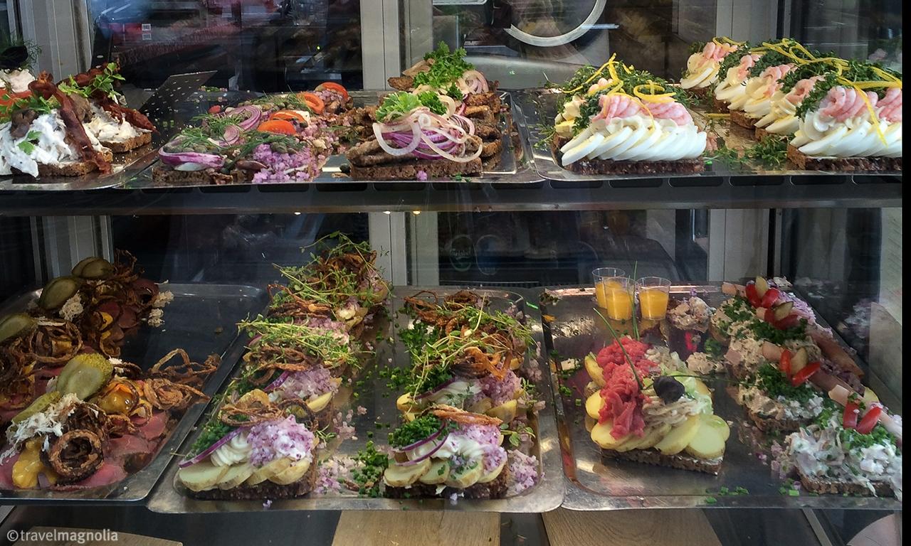 smørrebrød, Torvehallerne, open-faced sandwiches