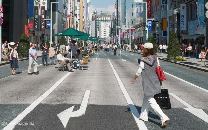 Ginza, Tokyo, Street Scene