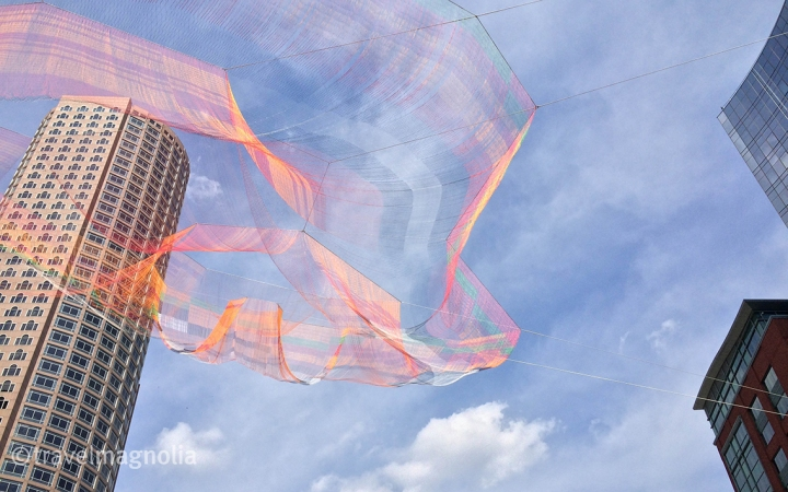 Janet Echelman, Greenway, Boston