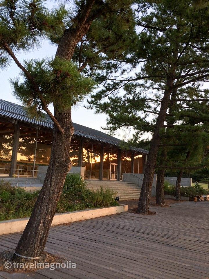 Naoshima, Benesse Park Hotel, Japan