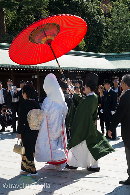 Shinto Wedding Ceremony, Meiji Shrine