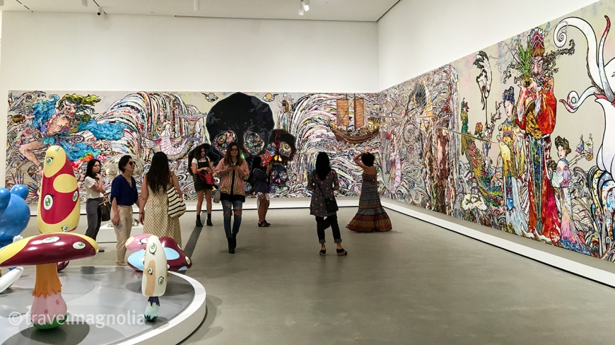 Takashi Murakami, The Broad, LA