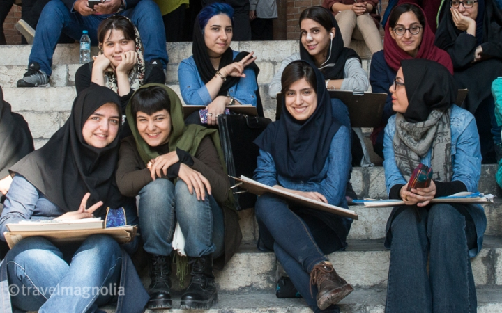 Iran, Tehran, Students