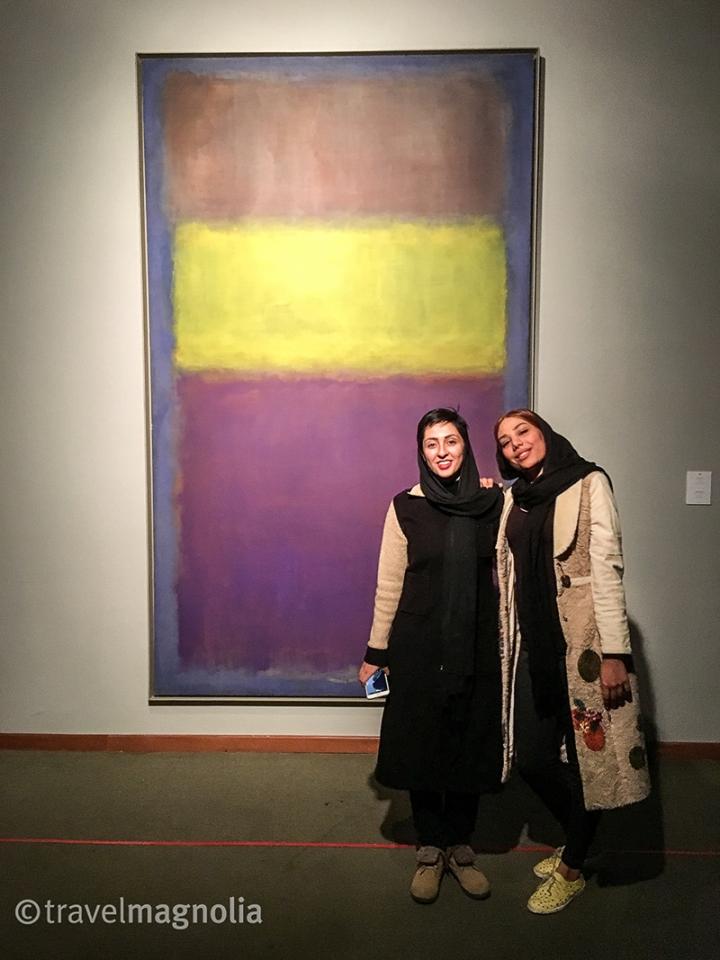 Rothko with Girls