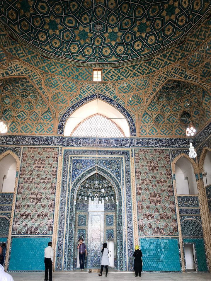 Mihrab_YazdMosque