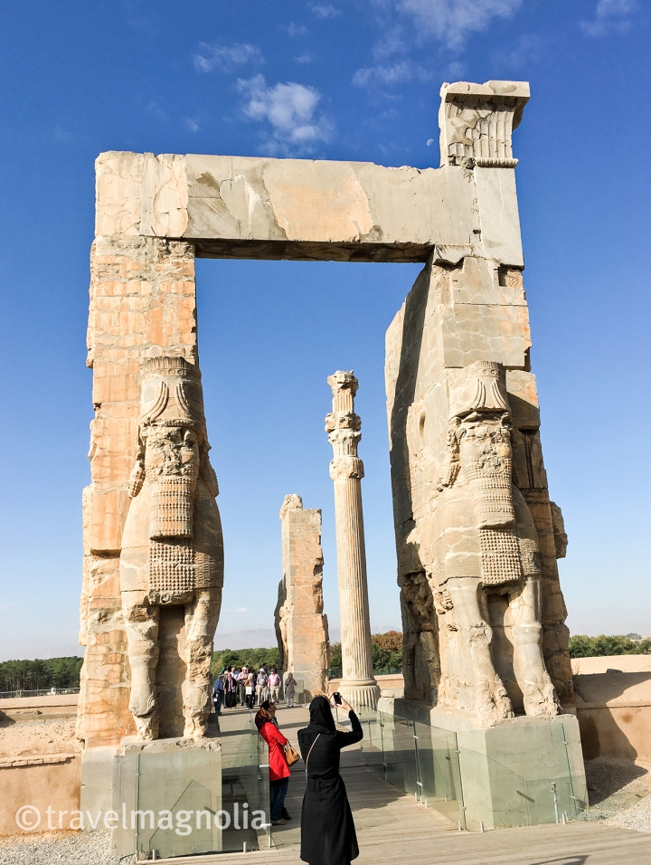 Gate of All Nations, Persepolis, Iran, travelmagnolia