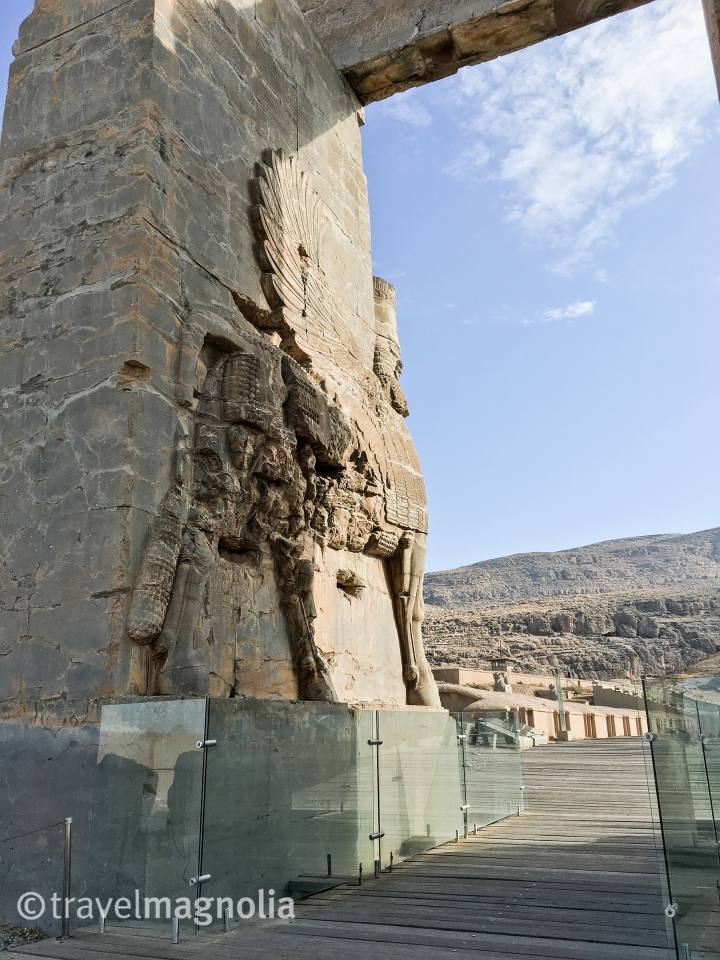Lamassu, Persepolis, Gate of All Nations, travel magnolia