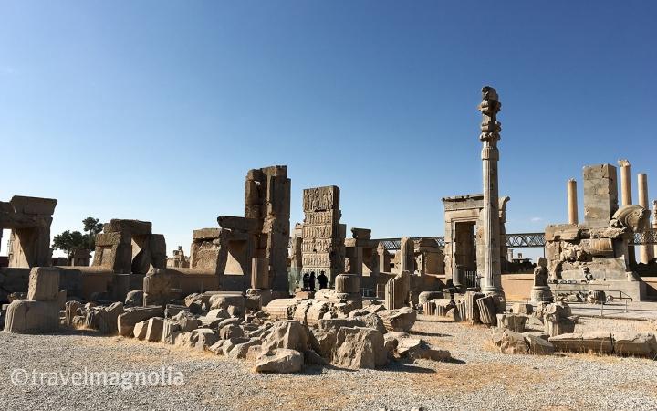 Palace of 100 Columns, 5th century BCE, Persepolis, Iran, Xerxes