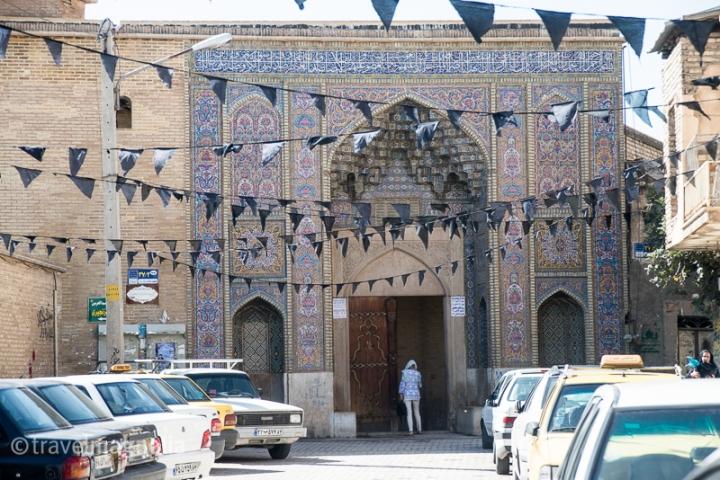 PinkMosque_Shiraz_Entrance