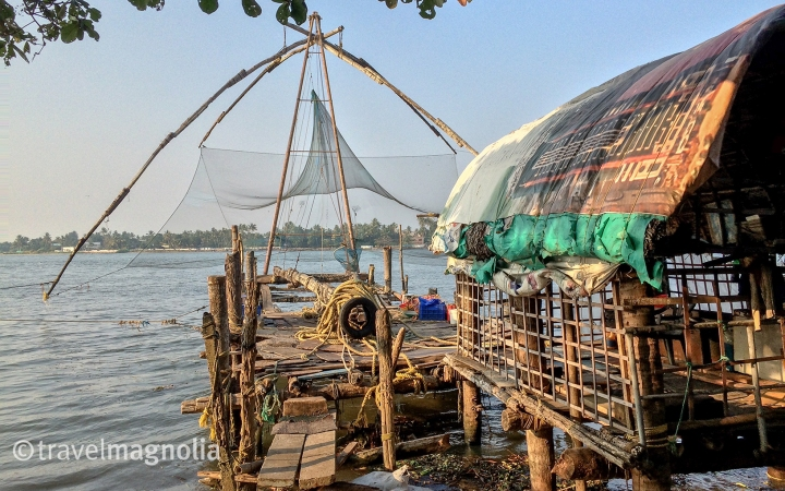 Chinese Fishing Nets, Kochi, Kerala, India, travelmagnolia.me