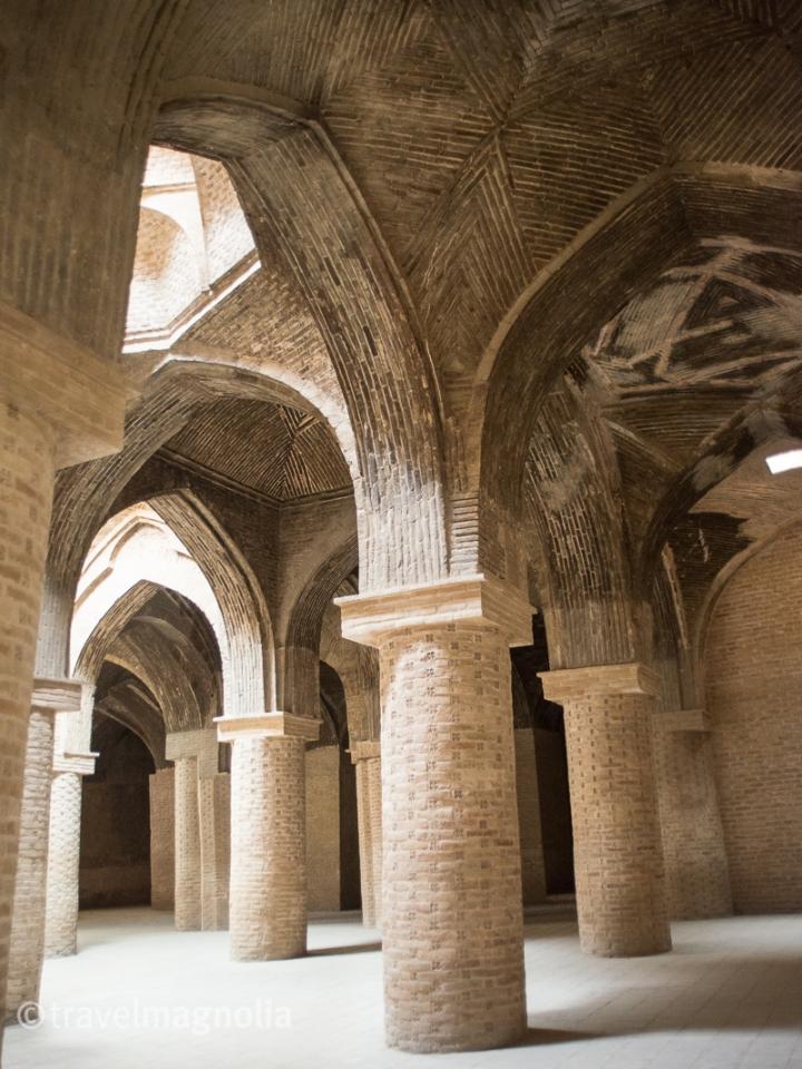 Jameh Mosque, Isfahan, travelmagnolia.me
