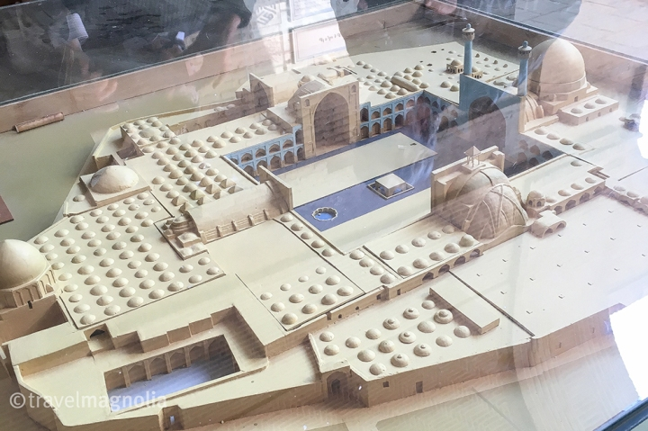 Jameh Mosque Architectural Model