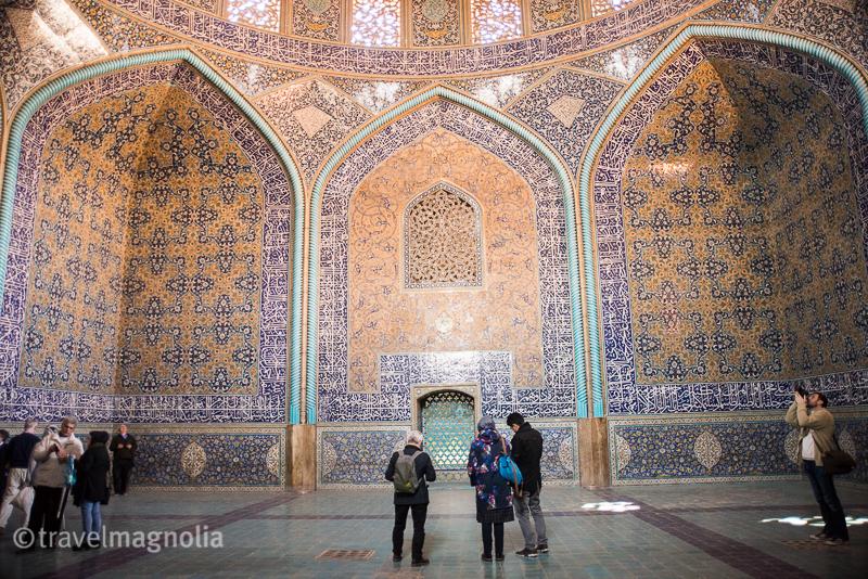 Sheik Lotfollah Mosque, Isfahan, Safavid Era, travelmagnolia.me