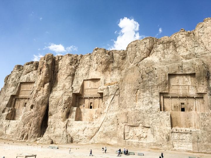 Tombs, Achaemenid Kings, Naqsh-e Rustam, Iran