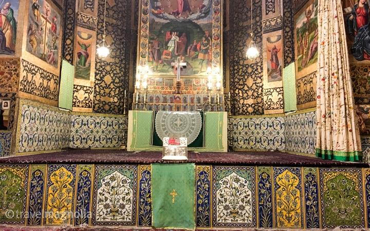 Vank Cathedral Altar Isfahan