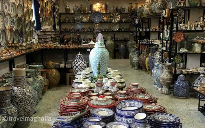 ArtNaji_Ceramics_Fez, Morocco ©travelmagnolia2016