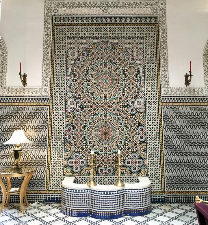 Fountain, Riad Fez, Fès, Morocco, ©travelmagnolia2016