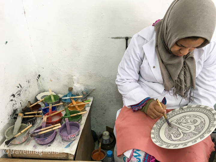 Art Naji, Ceramics, Fès, Morocco, ©travelmagnolia2016