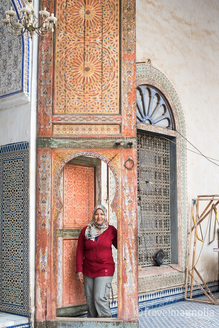 Palais Glaoui Doorway with Siham