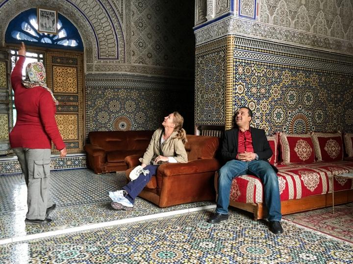 Palais Glaoui, Fès, Morocco, Zellige ©travelmagnolia2016