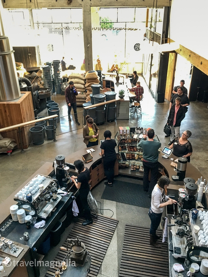 Sightglass Coffee south of market in San Francisco