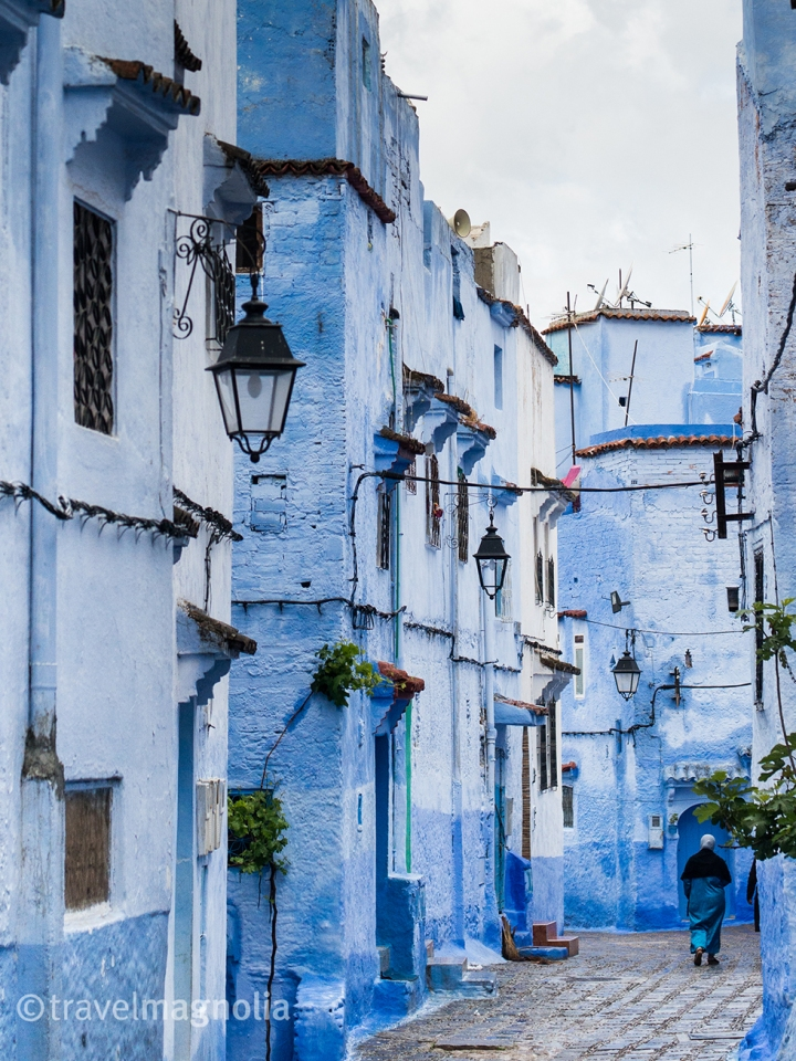 Blue on Blue  in Chefchaouen