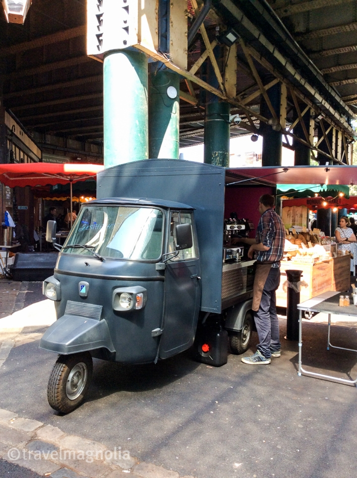 Borough Market coffee vendor