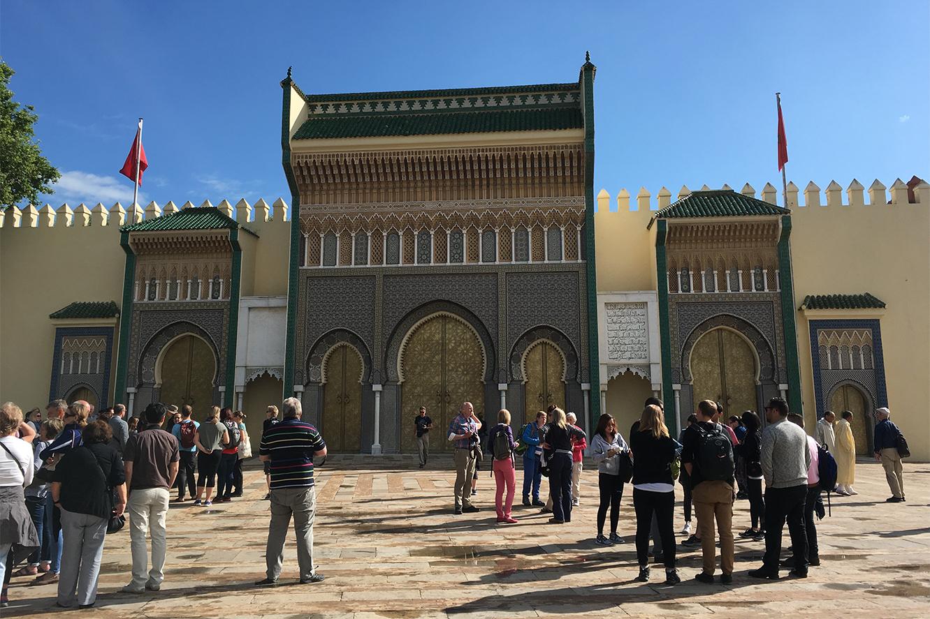 Fez, Morocco, Tourism, Dar el Makhzen gates