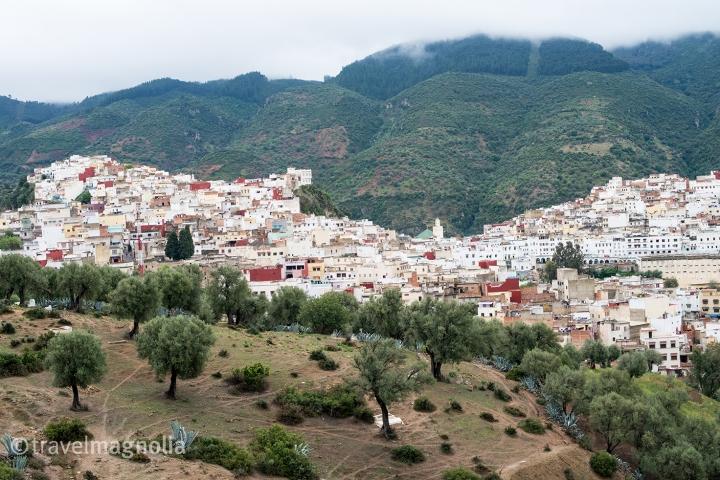 Moulay Idriss, Morocco ©travelmagnolia2016