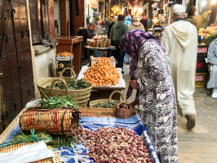 Souk, Medina, Fès el Bali, Fez, Morocco ©travelmagnolia2016
