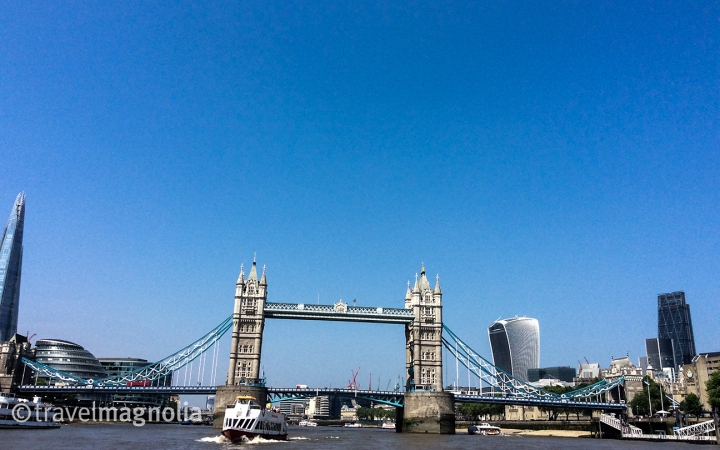 View from the Thames Clipper