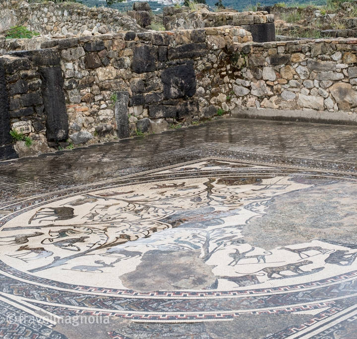 Volubilis Mosaic Myth of Orfeo