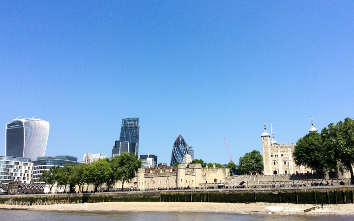 Walkie Talkie, Gherkin and Tower