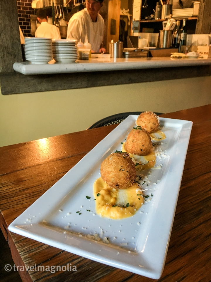 Arancini at Bin22 in Jackson, Wyoming ©travelmagnolia