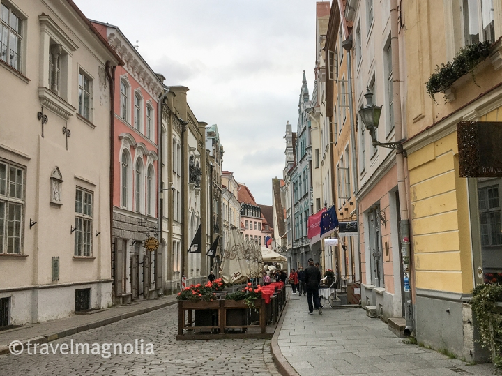 Pikk Street, Tallinn, Estonia ©travelmagnolia2016