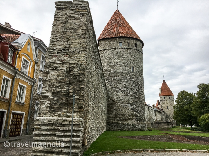 Tallinn, Estonia's city wall and fortifications ©travelmagnolia2016