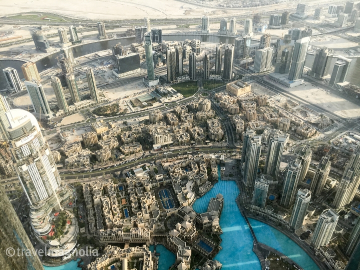 Bird's Eye View of Dubai