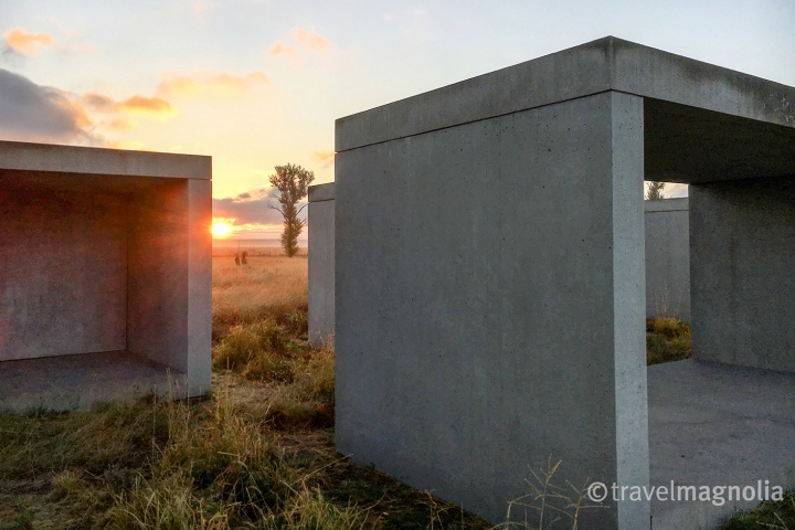 Donald Judd Chinati Sunrise copy