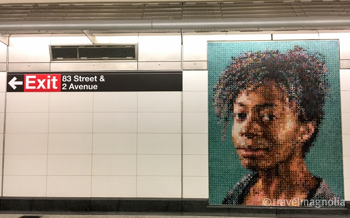 ChuckClose_Photo Mosaic of Kara Walker
