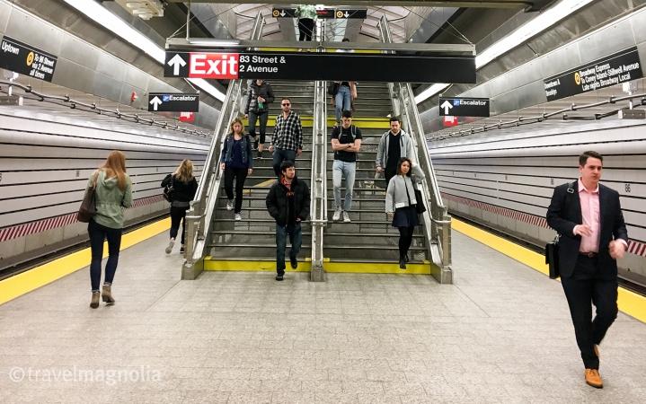 Platform View 86th Street
