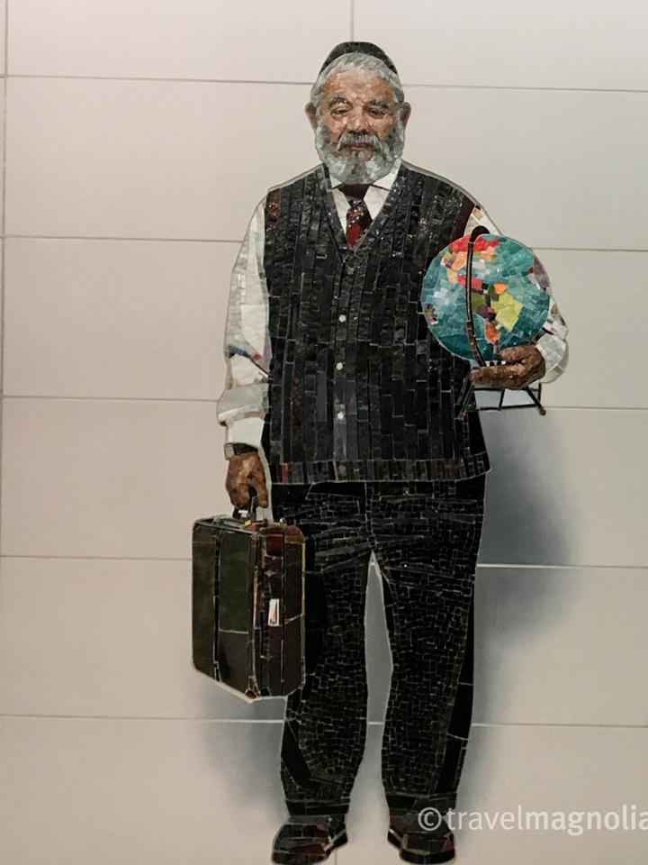 Vik Muniz_Complete Strangers Man with Globe-2