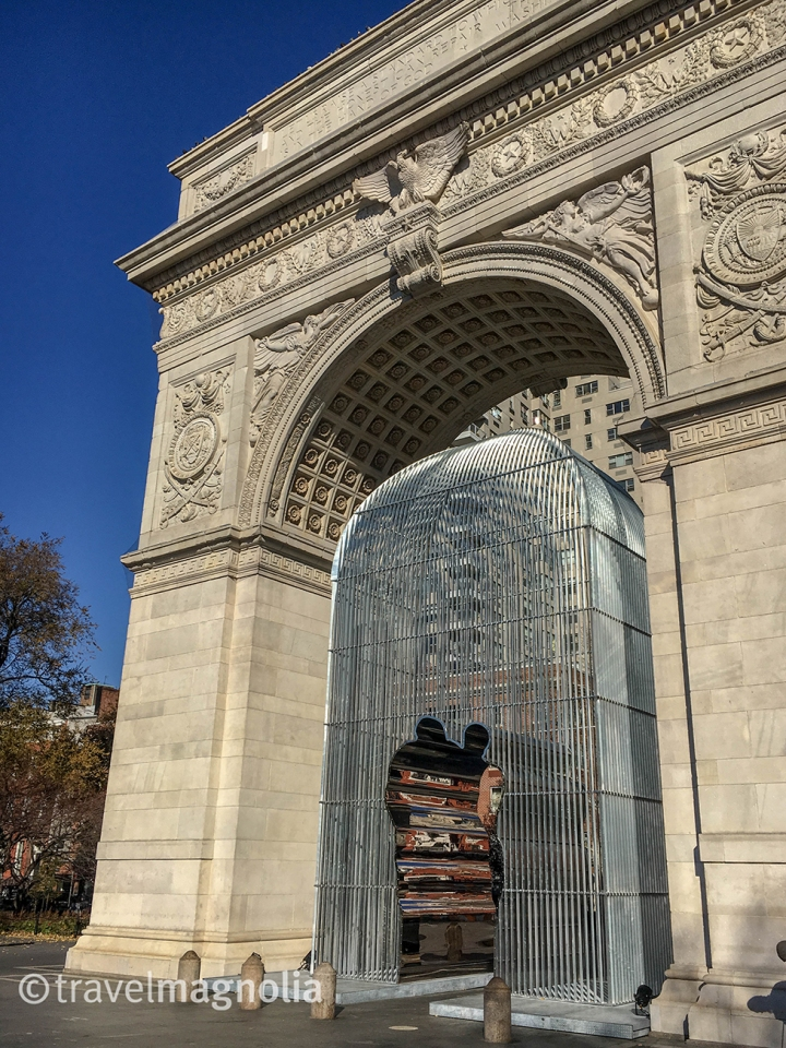 Ai WeiWei Arch Washington Square park