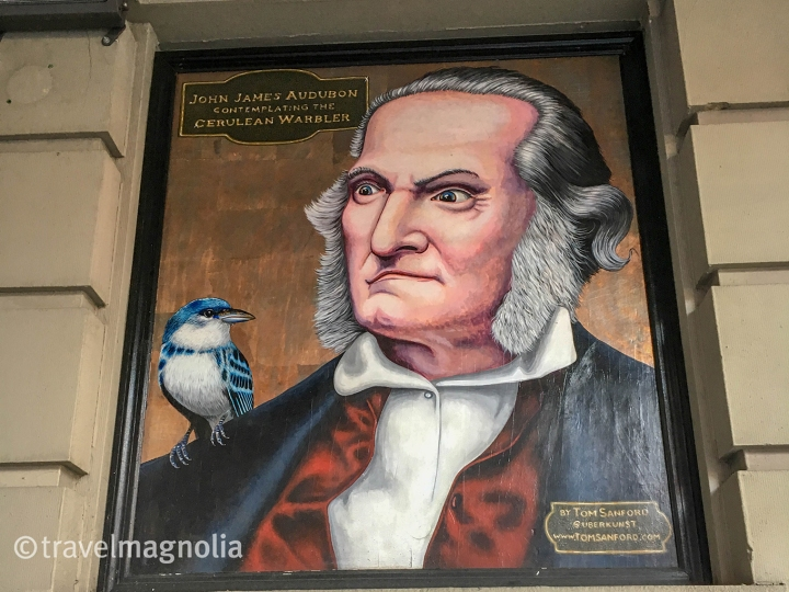 Audubon and Cerulean Warbler w 149th st