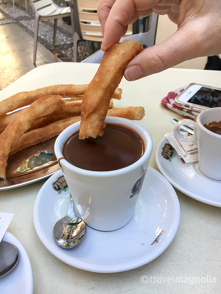Coffee, Churros and Chocolate