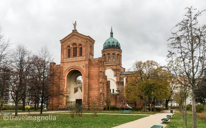 Engelbecken Park Berlin