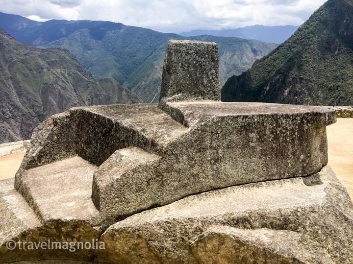 Machu Pichu Intihuatana