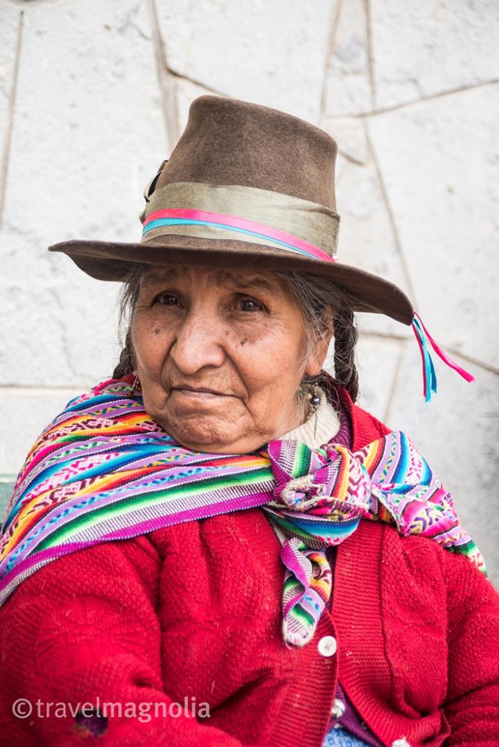 Ollantaytambo Mujer