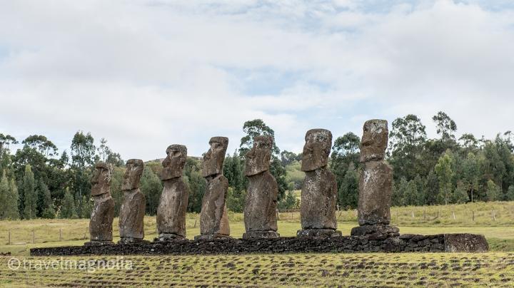 Ahu A Kivi_Seven Moai